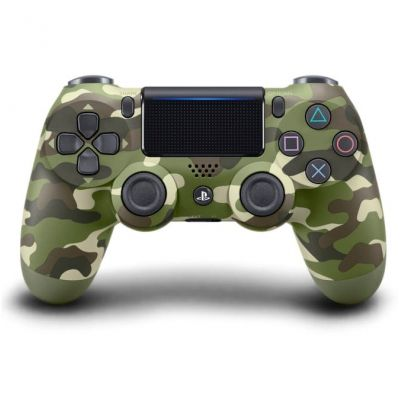 Sony DualShock 4 Version 2 (green camouflage)
