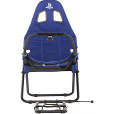 Игровое кресло Playseat Challenge Playstation с креплением для руля Синее (RCP.00162) (PS4)