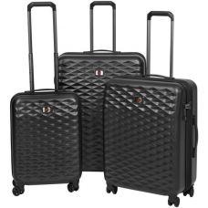 Набор чемоданов Wenger Lumen (604333) Чёрный
