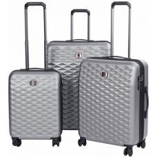 Набор чемоданов Wenger Lumen (604335) Серый