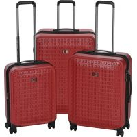 """Набор чемоданов Wenger Matrix Set (20""""/24""""/28"""") 4 колеса Red красный (604350)"""