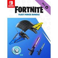 Fortnite Fleet Force Bundle & 500 V-Bucks (ваучер на скачивание) (Nintendo Switch)