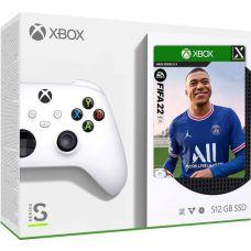 Microsoft Xbox Series S 512Gb + FIFA 22 (русская версия)