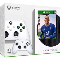 Microsoft Xbox Series S 512Gb + FIFA 22 (русская версия) + доп. Wireless Controller with Bluetooth (Robot White)