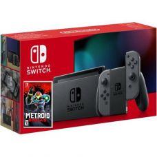 Nintendo Switch Gray (Upgraded version) + Игра Игра Metroid Dread (русская версия)