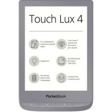 Электронная книга PocketBook 627 Touch Lux 4 Matte Silver (PB627-S-CIS)