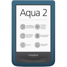 Электронная книга PocketBook 641 Aqua 2 Azure (PB641-A-CIS)