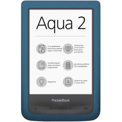 Электронная книга PocketBook 641 Aqua 2 Azure (PB641-A-CIS) (витринный вариант)