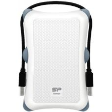 "Внешний жесткий диск 1Tb Silicon Power 2,5"", USB3.0 White (SP010TBPHDA30S3W)"