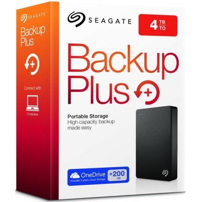 Жесткий диск Seagate Backup Plus Portable 4TB (STDR4000200)