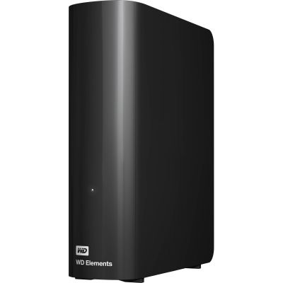 Внешний жесткий диск 8Tb Western Digital Elements Desktop 3.5 USB 3.0 External Black (WDBWLG0080HBK-EESN)
