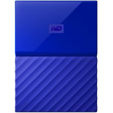 Внешний жесткий диск 4Tb Western Digital My Passport 2.5 USB 3.0 External Blue (WDBYFT0040BBL-WESN)