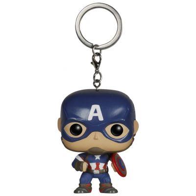 Pocket POP! Keychain: Marvel: Avengers AOU: Captain America