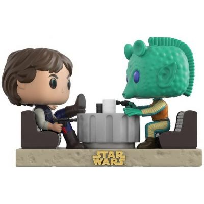 POP! Bobble 2-Pack: Star Wars: Movie Moments: Han Solo & Greedo Cantina (Exc)