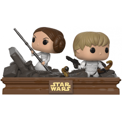 POP! Bobble 2-Pack: Star Wars: Movie Moments: Luke & Leia Trash Compactor (Exc)