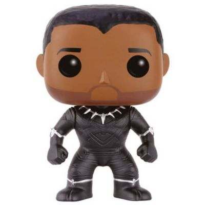 POP! Bobble: Marvel: Captain America CW: Unmasked Black Panther