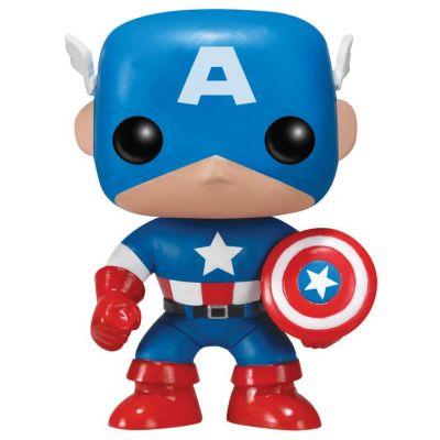 POP! Bobble: Marvel: Captain America