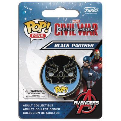 POP! Pins: Marvel: Captain America CW: Black Panther