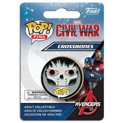 POP! Pins: Marvel: Captain America CW: Crossbones