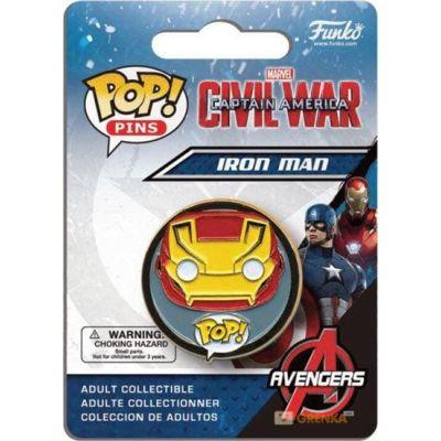 POP! Pins: Marvel: Captain America CW: Iron Man