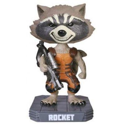 Wacky Wobbler: Guardians O/T Galaxy: Rocket Raccoon Flocked