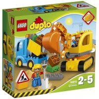 Грузовик и гусеничный экскаватор Lego (10812)