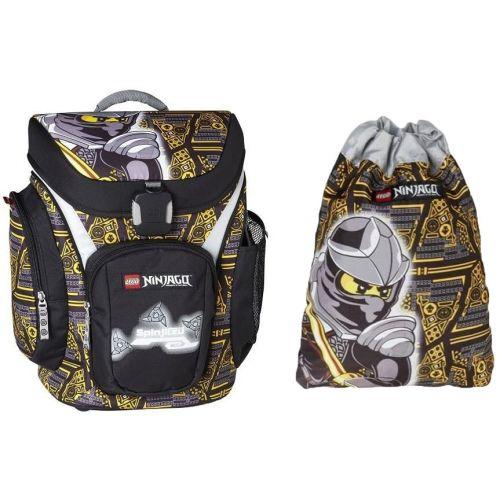 """Ранец школьный """"Лего Ниндзяго"""" Коул с сумкой для обуви 24л ..."""