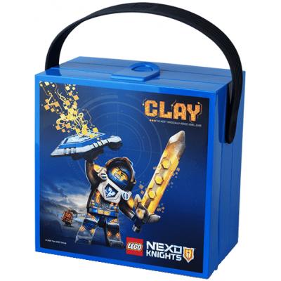 Ланч-бокс с ручкой Некзо Найтс 3.1л Lego (40511734)