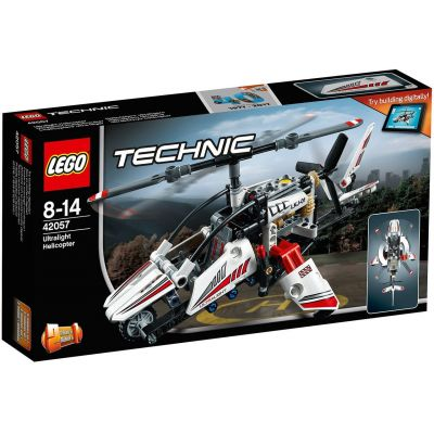 Сверхлёгкий вертолет Lego (42057)
