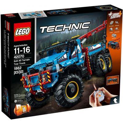 Полноприводный эвакуатор 6х6 Lego (42070)