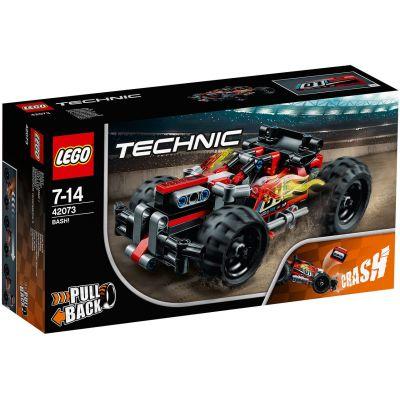 БЕМЦ! Красный гоночный автомобиль Lego (42073)