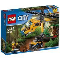 Грузовой вертолёт исследователей джунглей Lego (60158)