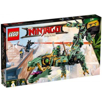Механический Дракон Зеленого Ниндзя Lego (70612)