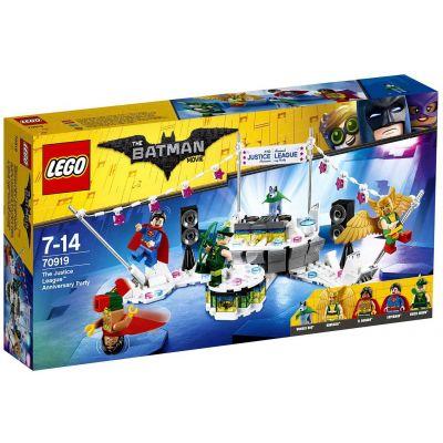 День рождения Лиги справедливости Lego (70919)