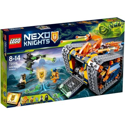 Передвижной арсенал Акселя Lego (72006)