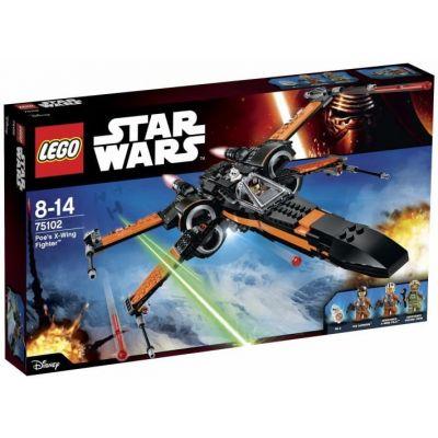 Звёздный истребитель X-Wing По Дамерона Lego (75102)