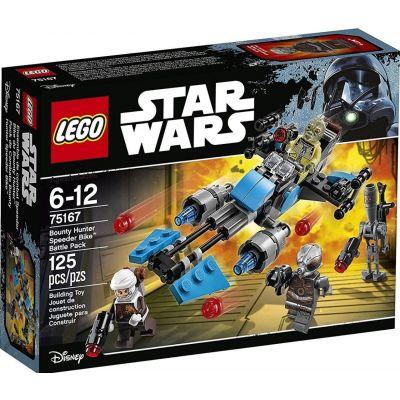 Скоростной мотоцикл охотников за головами Lego (75167)