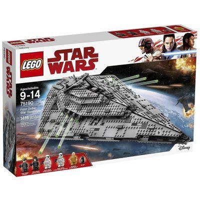 Звездный Истребитель Першого ордена Lego (75190)