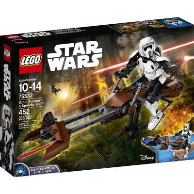 Штурмовик-разведчик на спидере Lego (75532)