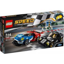 2016 Ford GT & Ford GT40 1966 Lego (75881)