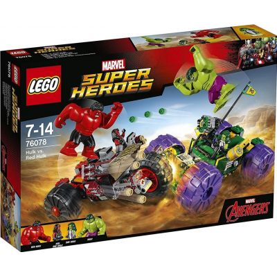 Халк против Красного Халка Lego (76078)