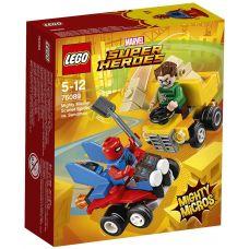 Mighty Micros: Человек-паук против Песочного человека Lego (76089)