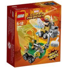 Mighty Micros: Тор против Локи Lego (76091)
