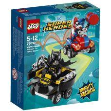 Mighty Micros: Бэтмен против Харли Квинн Lego (76092)