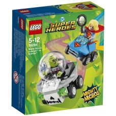 Mighty Micros: Супергёрл против Брейниака Lego (76094)