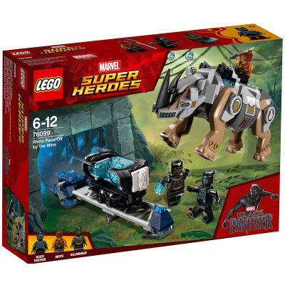 Схватка с носорогом у шахты Lego (76099)