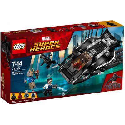 Атака королевского истребителя Lego (76100)