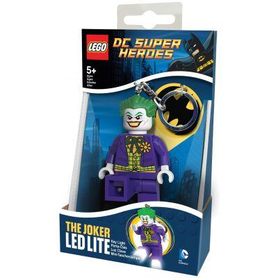 """Брелок-фонарик Супергерои """"Джокер"""" Lego (LGL-KE30A)"""