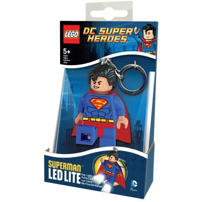 "Брелок-фонарик Супергерои ""Супермен"" Lego (LGL-KE39)"