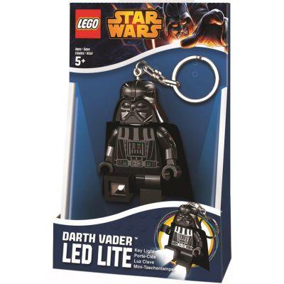 Брелок-фонарик Звездные войны Дарт Вейдер Lego (LGL-KE7)